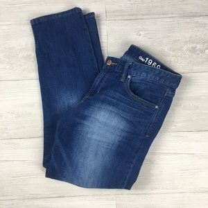 Women's GAP 1969 Size 29 Real Straight Jeans F24